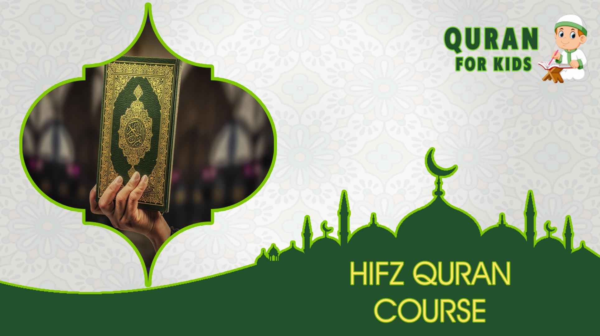 Hifz Quran Course