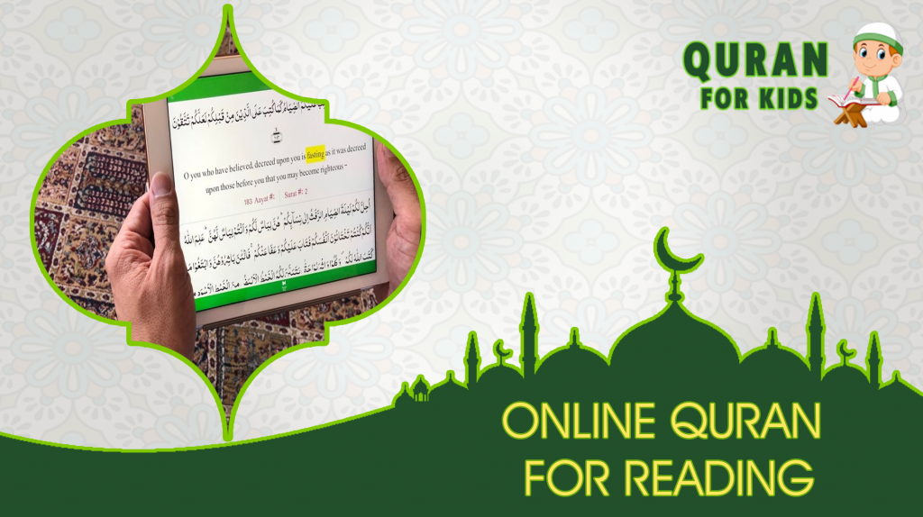 Online Quran for reading